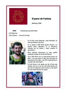 Entrevista Ball 01 -Jordi Ulleres-