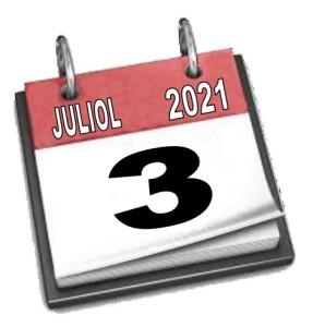 Data calendari ball 2021